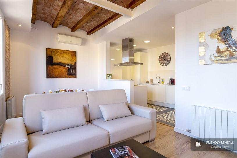 The Parlament 5 apartment in Barcelona