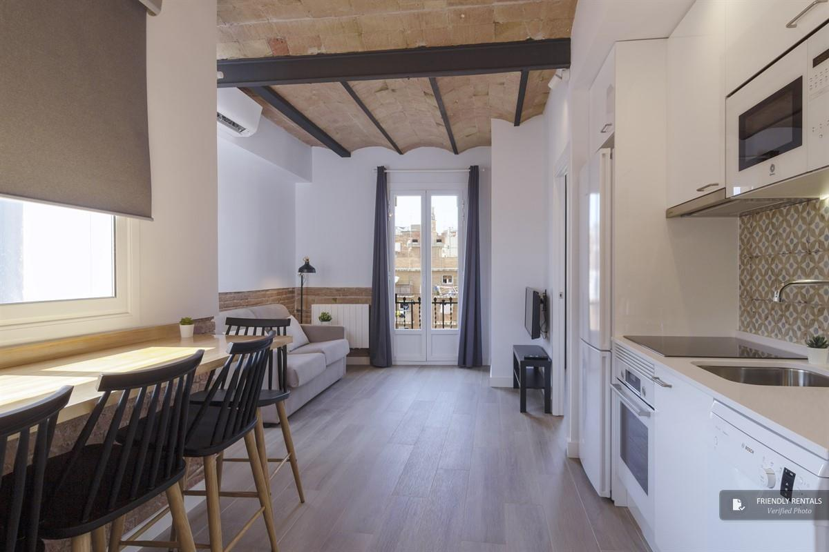 The Camp Nou II apartment in Barcelona
